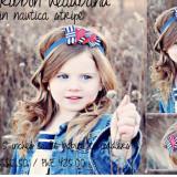 Spinkie Lovely Ribbon Headband NAUTICA STRIPE