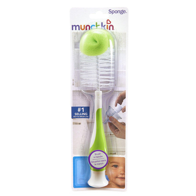 Green by Munchkin Munchkin Bristle Bottle Brush
