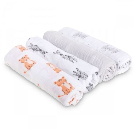 Baby and Beyond   Aden by Aden + Anais Swaddle Plus 4pk ...